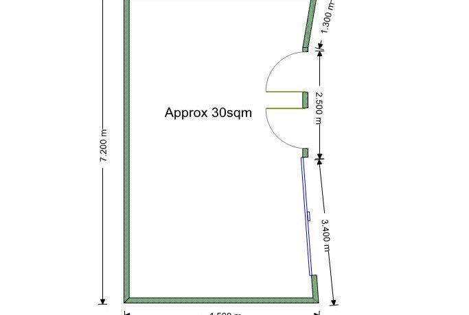 Keen 97 Shop 3 Floor Plan